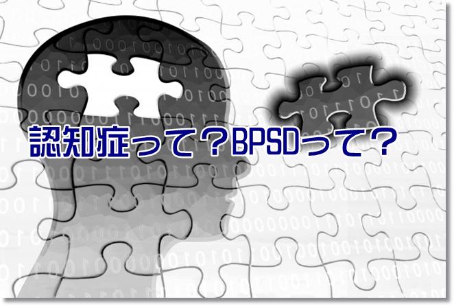 認知症とはどんな病気?BPSDとは?