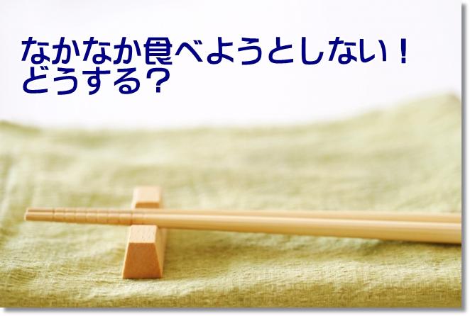 """認知症の食事介助 箸と箸置き"""""""