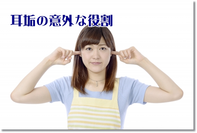 耳垢の意外な役割と耳浴について