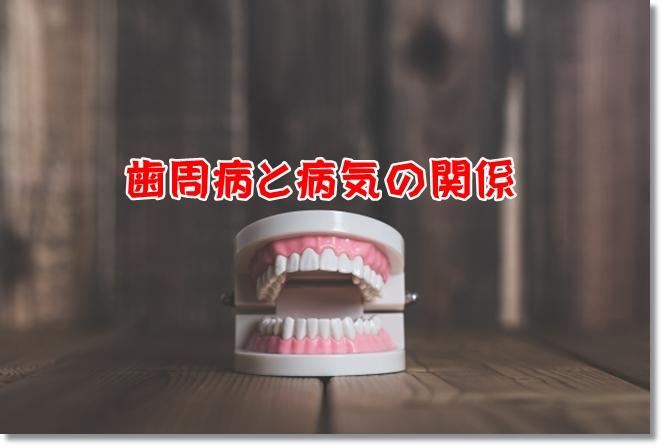 歯周病の症状と病気の関係は?