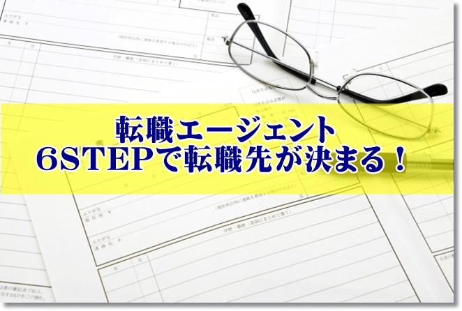 作業療法士の転職エージェントに登録すると6STEPで採用決定