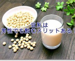 豆乳飲料のイメージ