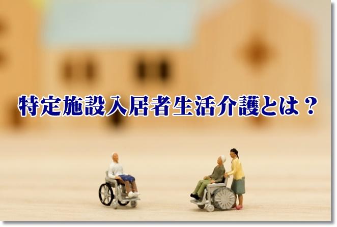 特定施設入居者生活介護とは?