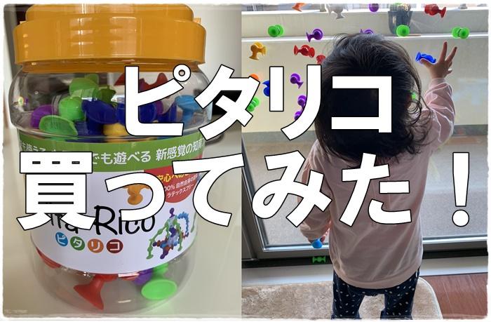 新感覚!Pita-Ricoピタリコって?遊び方と特徴は?子どもの反応は?
